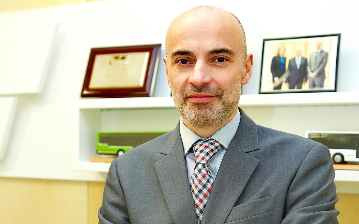 Juan Luis Castro. Presidente de Grupo Castrosua