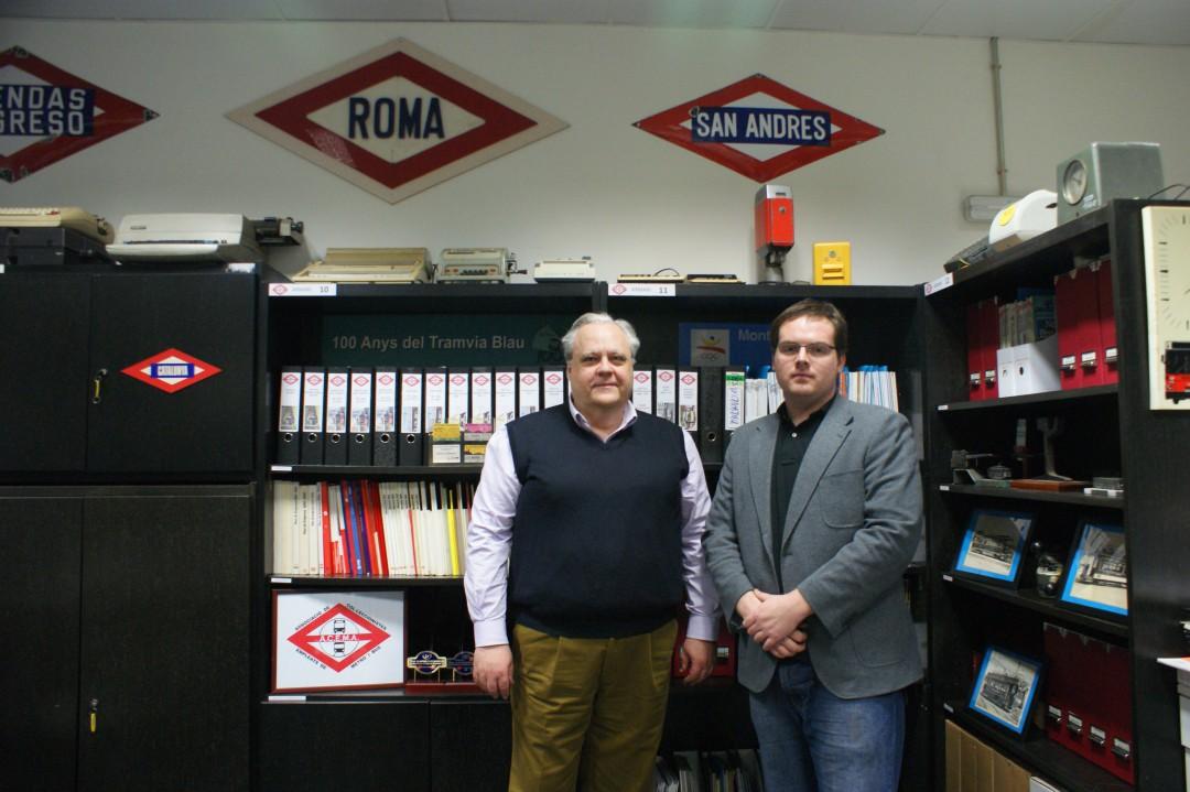 Alberto Martín y Josep R. Tauste son, respectivamente, presidente y secretario de ACEMA,