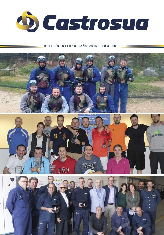 Boletín Interno Grupo Castrosua Nº 6 2016