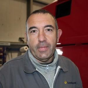 Jesús Gómez – Ganador III Premio D. José Manuel Castro a la profesionalidad de Castrosua