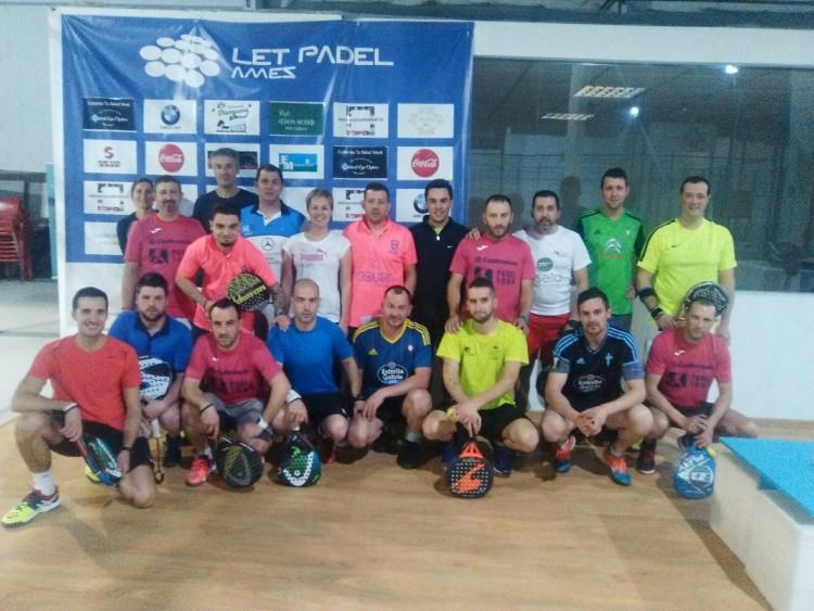 Participantes del III Torneo Padel Grupo Castrosua