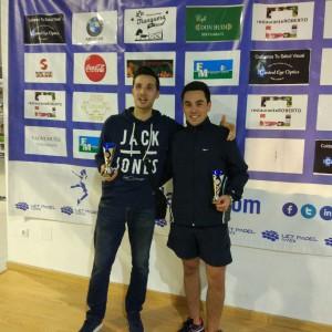 Diego y Ramón: subcampeones Cuadro Principal