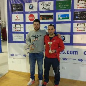 Manuel y Jano: Campeones Cuadro Principal
