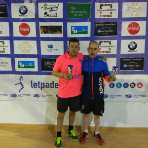 Rubén y Miguel: Campeones Cuadro Consolación