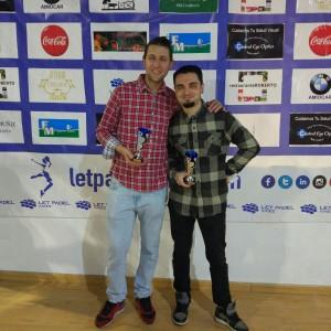 Christián y Adriánl: Subcampeones Cuadro Consolación