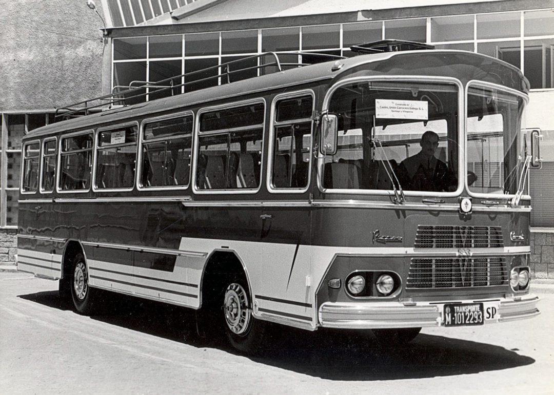 Autobús Pegaso Comet
