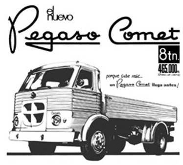 Pegaso Comet 1968