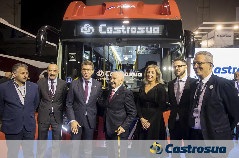 70 aniversario Castrosua tres generaciones