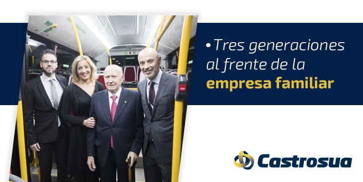 Empresa familiar tres generaciones Castrosua