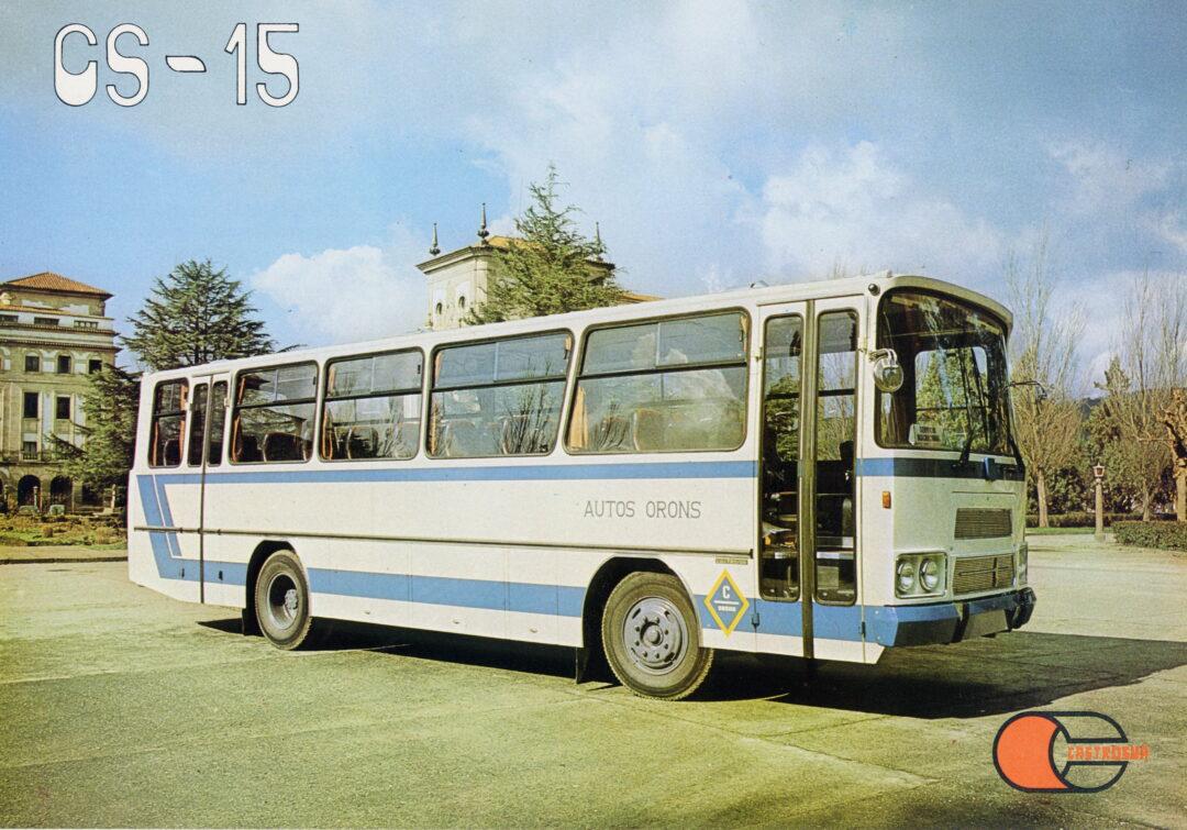 autobús CS-15 evolución del Arosa