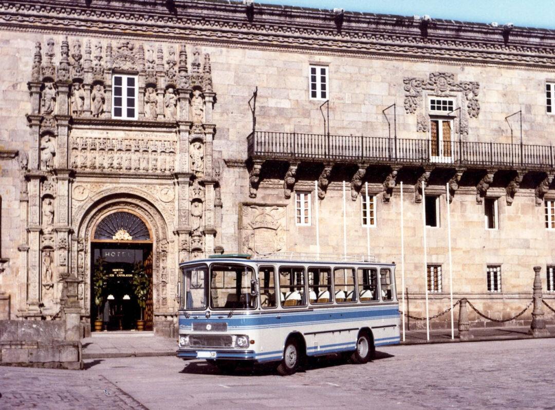 historia de Castrosua autobús histórico