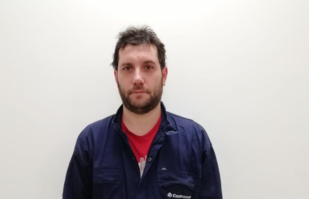 Esteban Freire, ganador del Premio D. José Castro al compañerismo