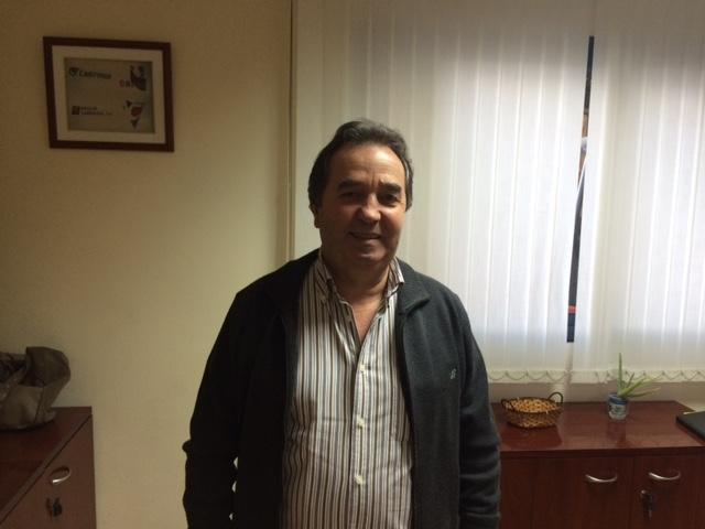 Manuel Oliveira Do Río jefe de taller de Insucar