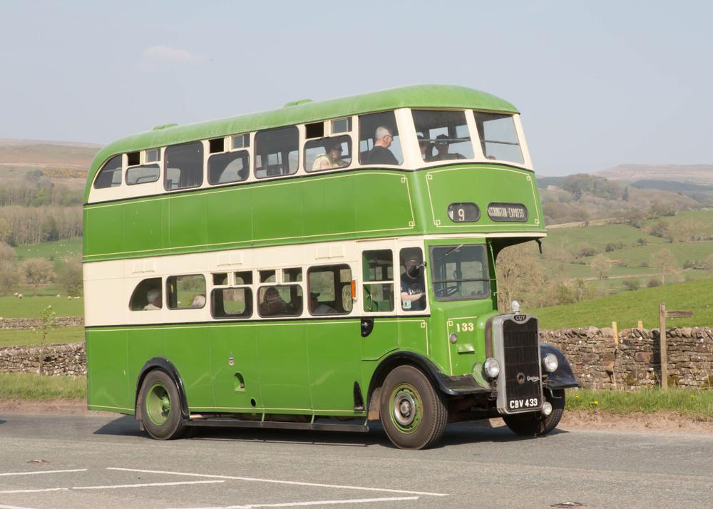 autobús de dos pisos 1949