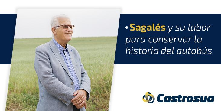 colección de autobuses históricos Sagalés