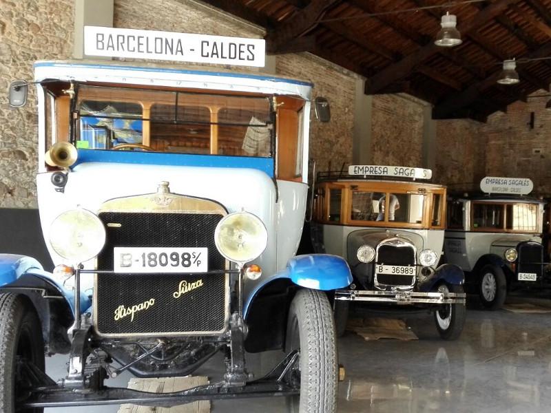 vehículos históricos en la colección Sagalés
