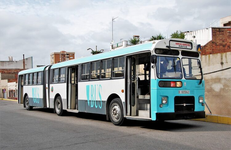 Autobús articulado Pegaso 6035-A