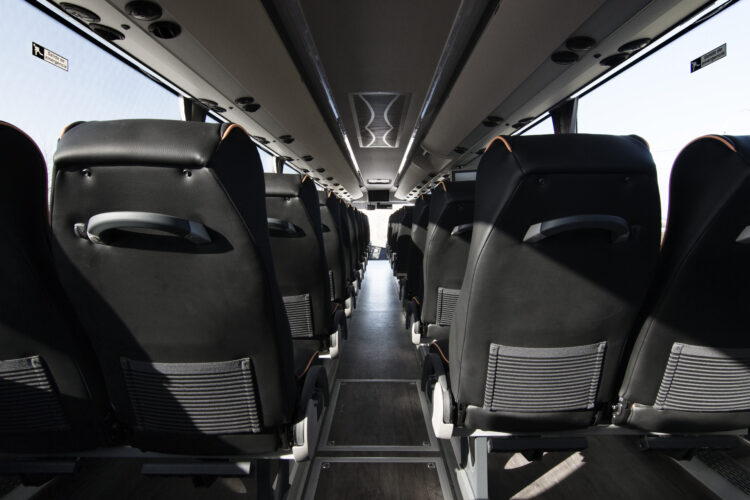 interior autocar Stellae Grupo Castrosua